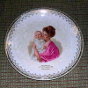 Plate with painting of woman and child - 2012.804