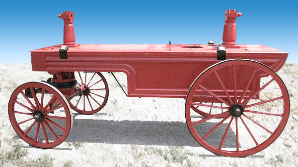 1872 Fire Pumper Returns to Tonawanda, NY.