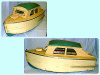 Richardson Cruiser model boat - 2012.838