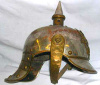1918 German helmet - 2012.994.1